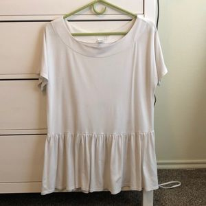 Urban Outfitters Peplum Top